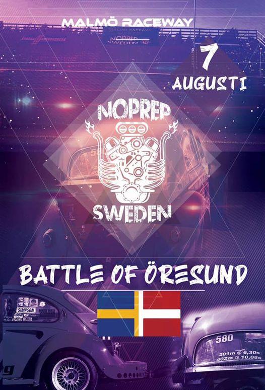No prep Battle of Öresund